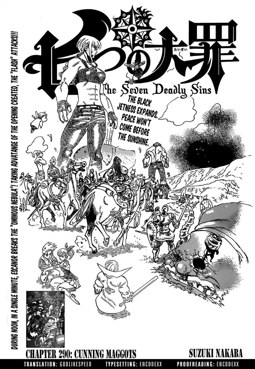 Nanatsu no Taizai 290 Page 1
