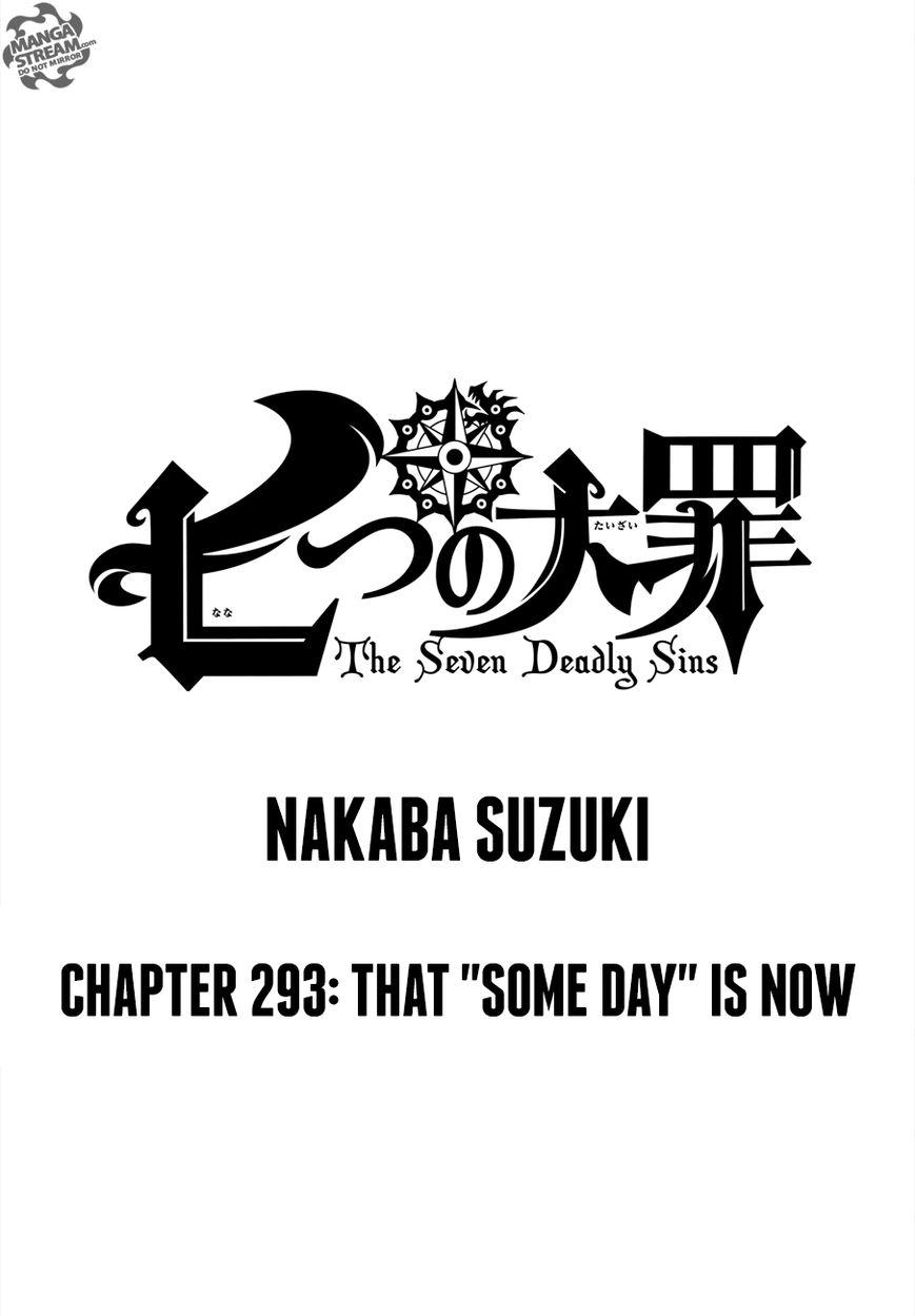 Nanatsu no Taizai 293 Page 1