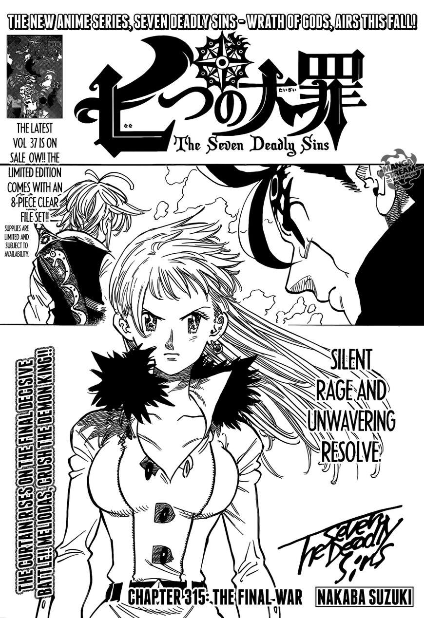 Nanatsu no Taizai 315 Page 1