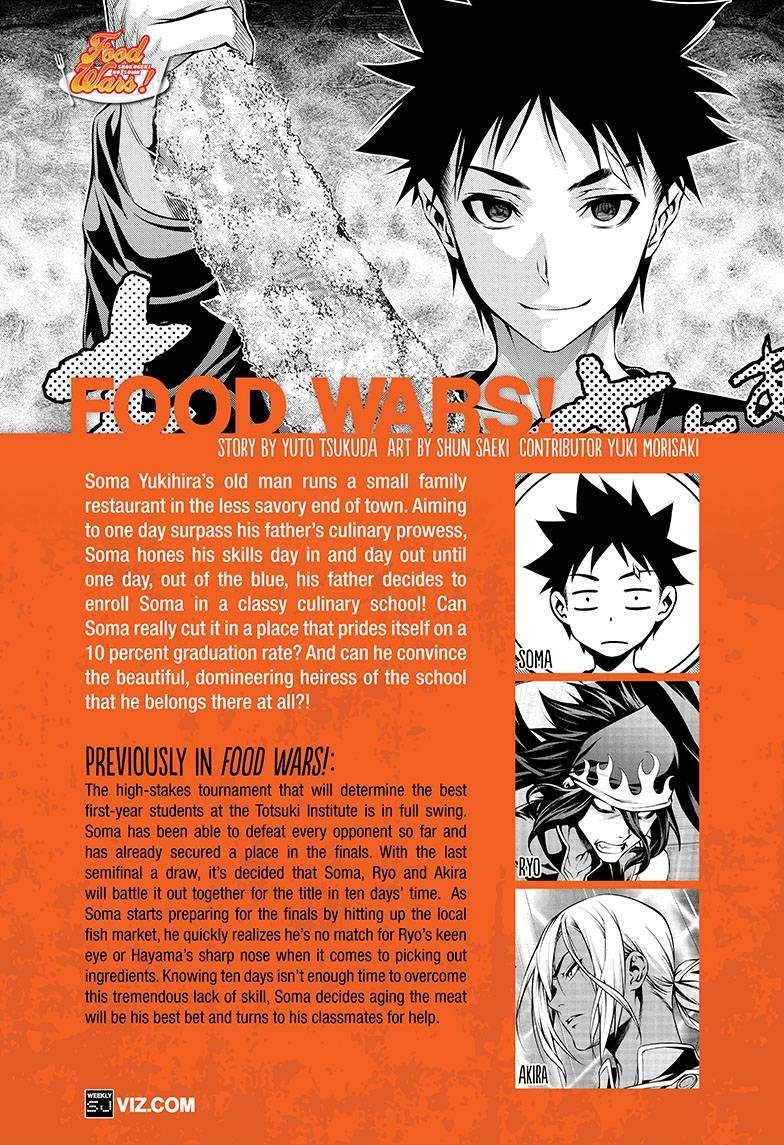 Shokugeki no Soma 97 Page 1