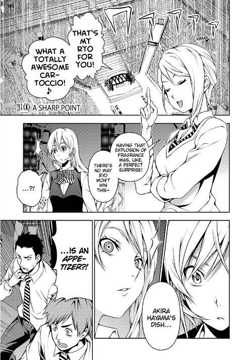 Shokugeki no Soma 100 Page 1