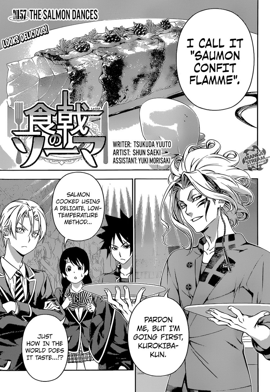 Shokugeki no Soma 157 Page 1