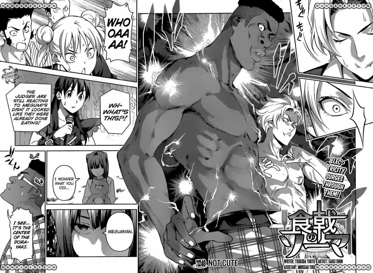 Shokugeki no Soma 240 Page 2