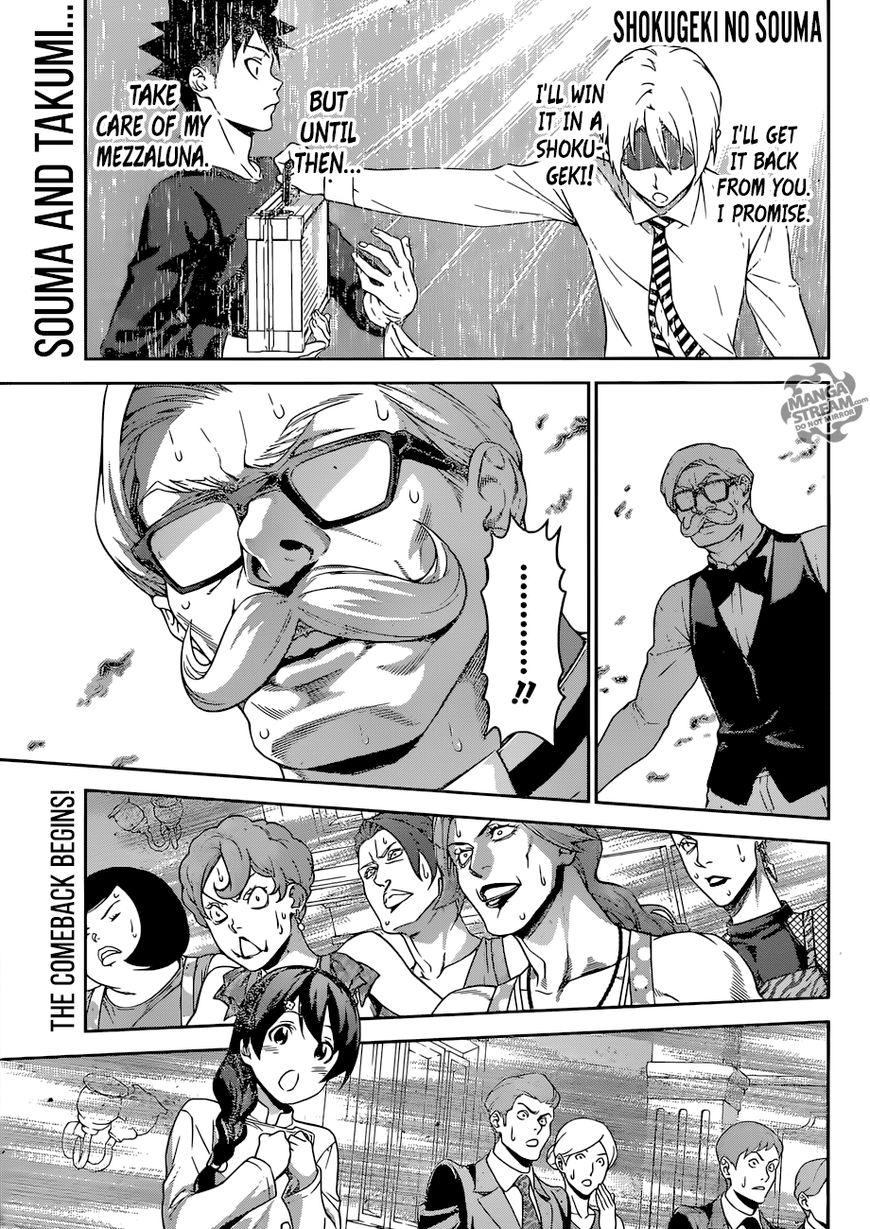Shokugeki no Soma 299 Page 1
