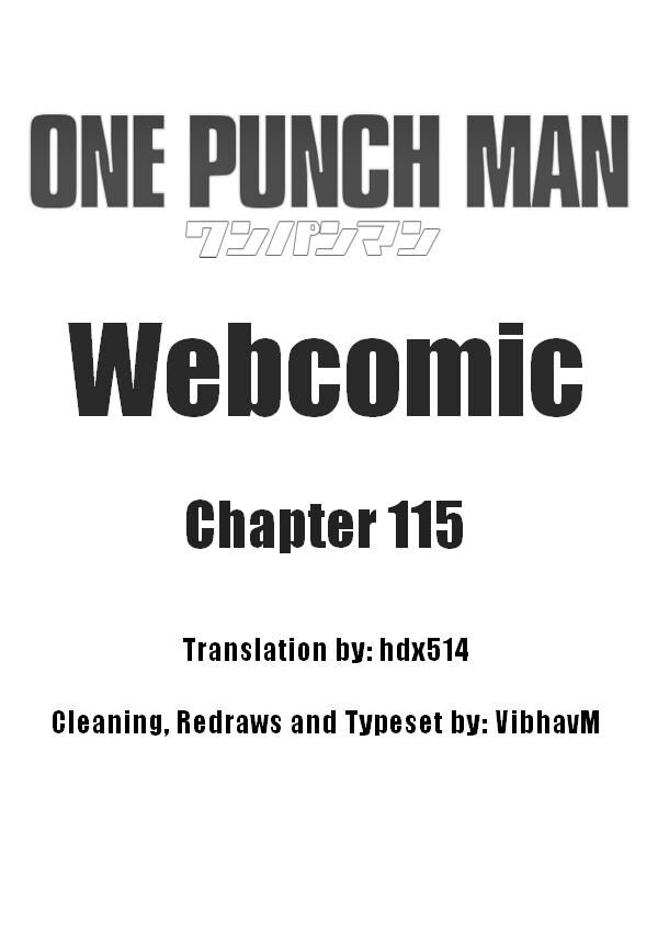 Onepunch-Man (ONE) 115 Page 1