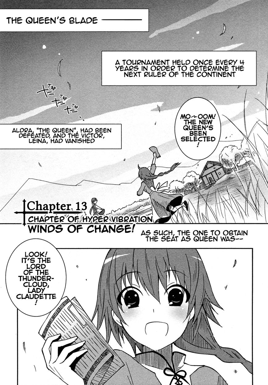 Queen's Blade Rebellion: Zero 13 Page 1
