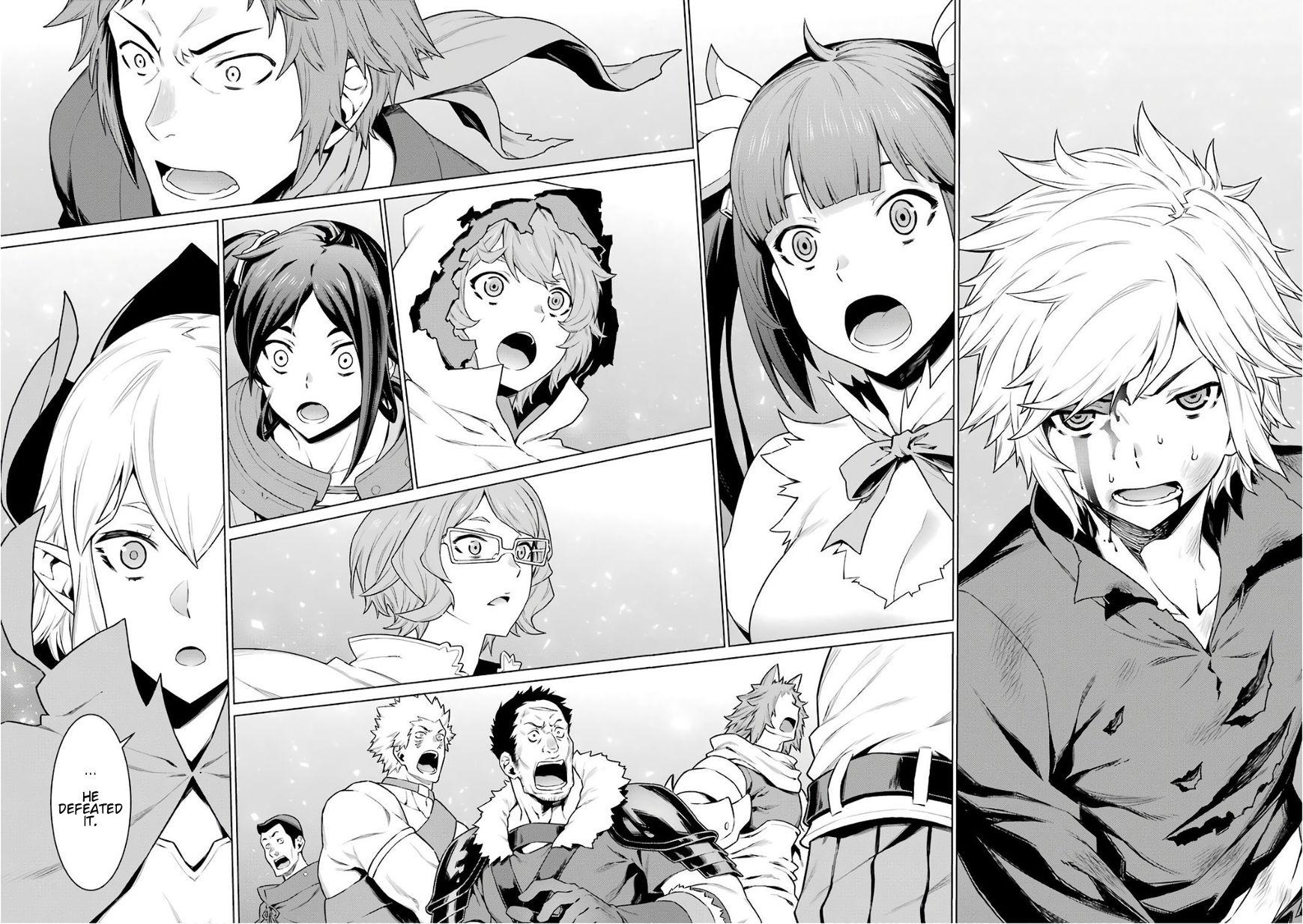 Dungeon ni Deai o Motomeru no wa Machigatte Iru Darou ka 85 Page 2