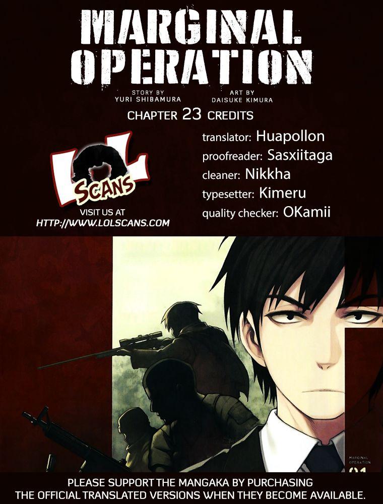 Marginal Operation 23 Page 1