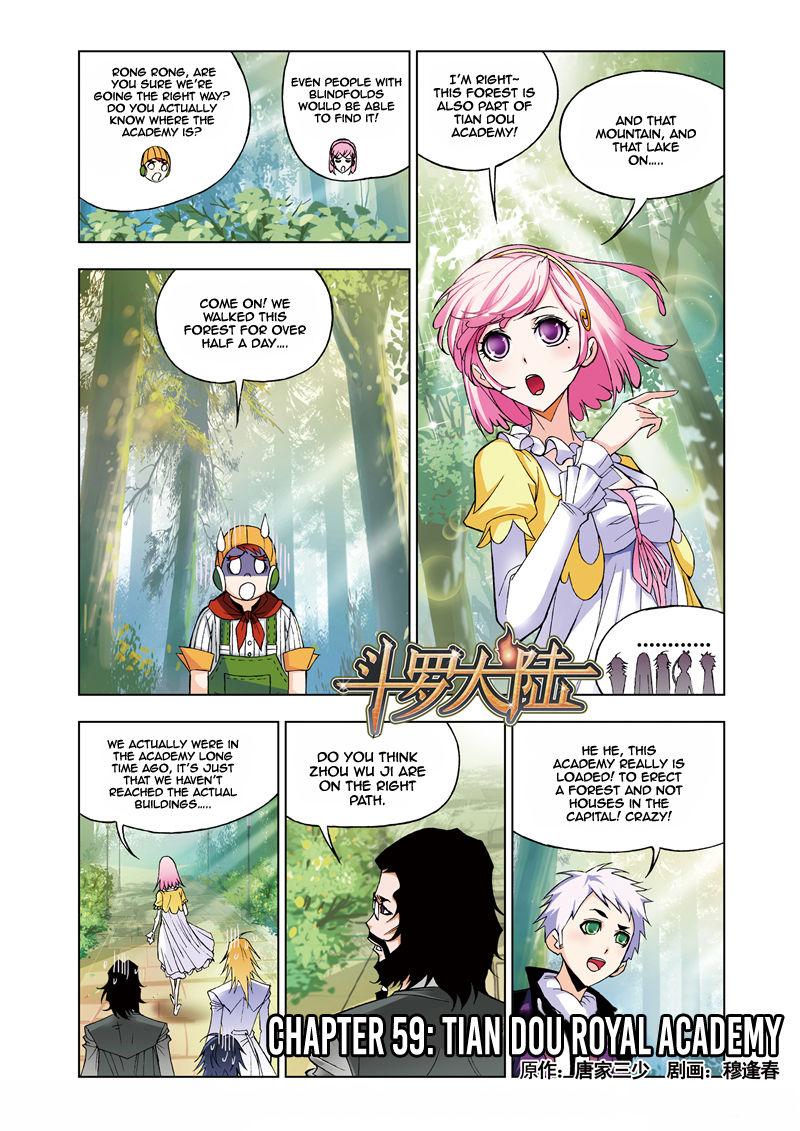 Soul Land 59 Page 1