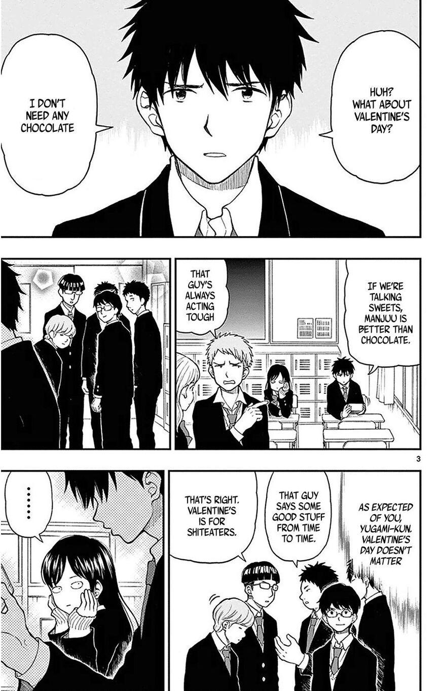 Yugami-kun ni wa Tomodachi ga Inai 45 Page 3