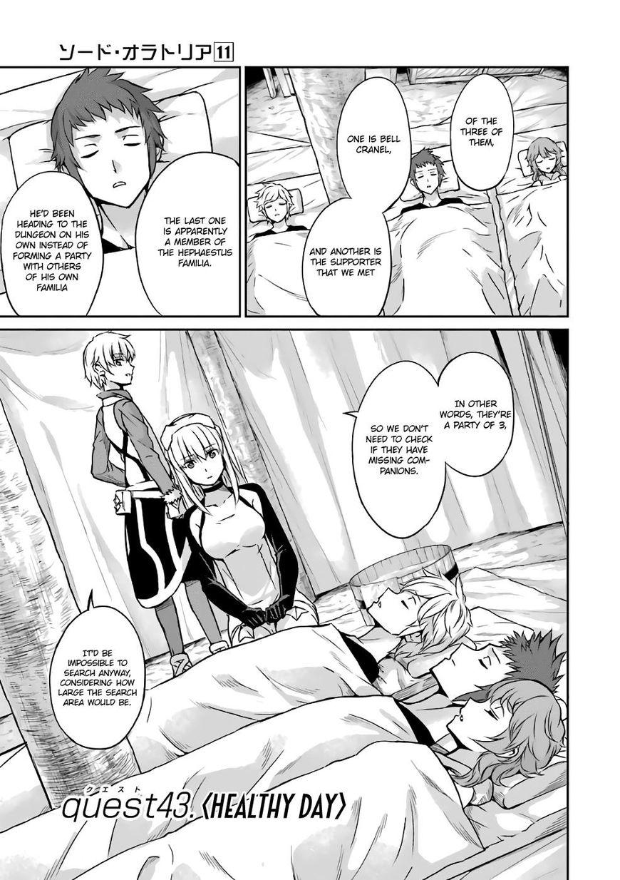 Dungeon ni Deai o Motomeru no wa Machigatte Iru Darou ka Gaiden - Sword Oratoria 43 Page 2