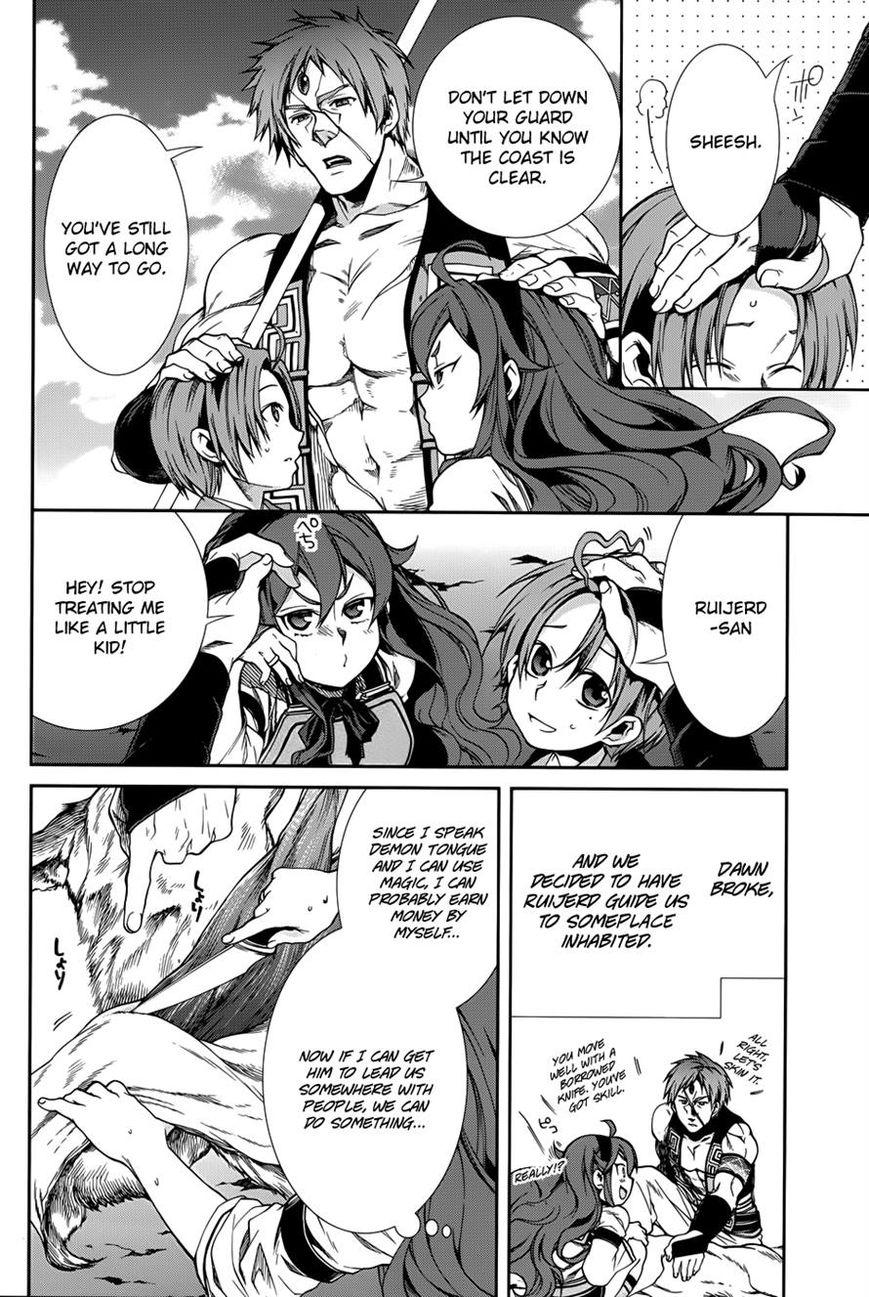 Mushoku Tensei - Isekai Ittara Honki Dasu 19 Page 4