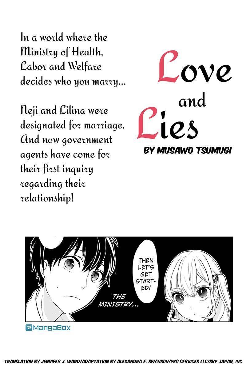Koi to Uso 20 Page 1