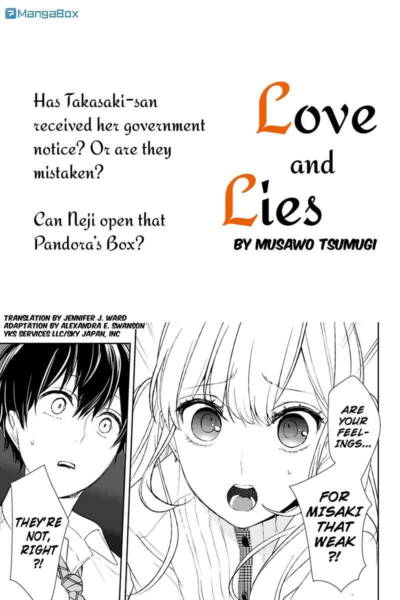 Koi to Uso 23 Page 1