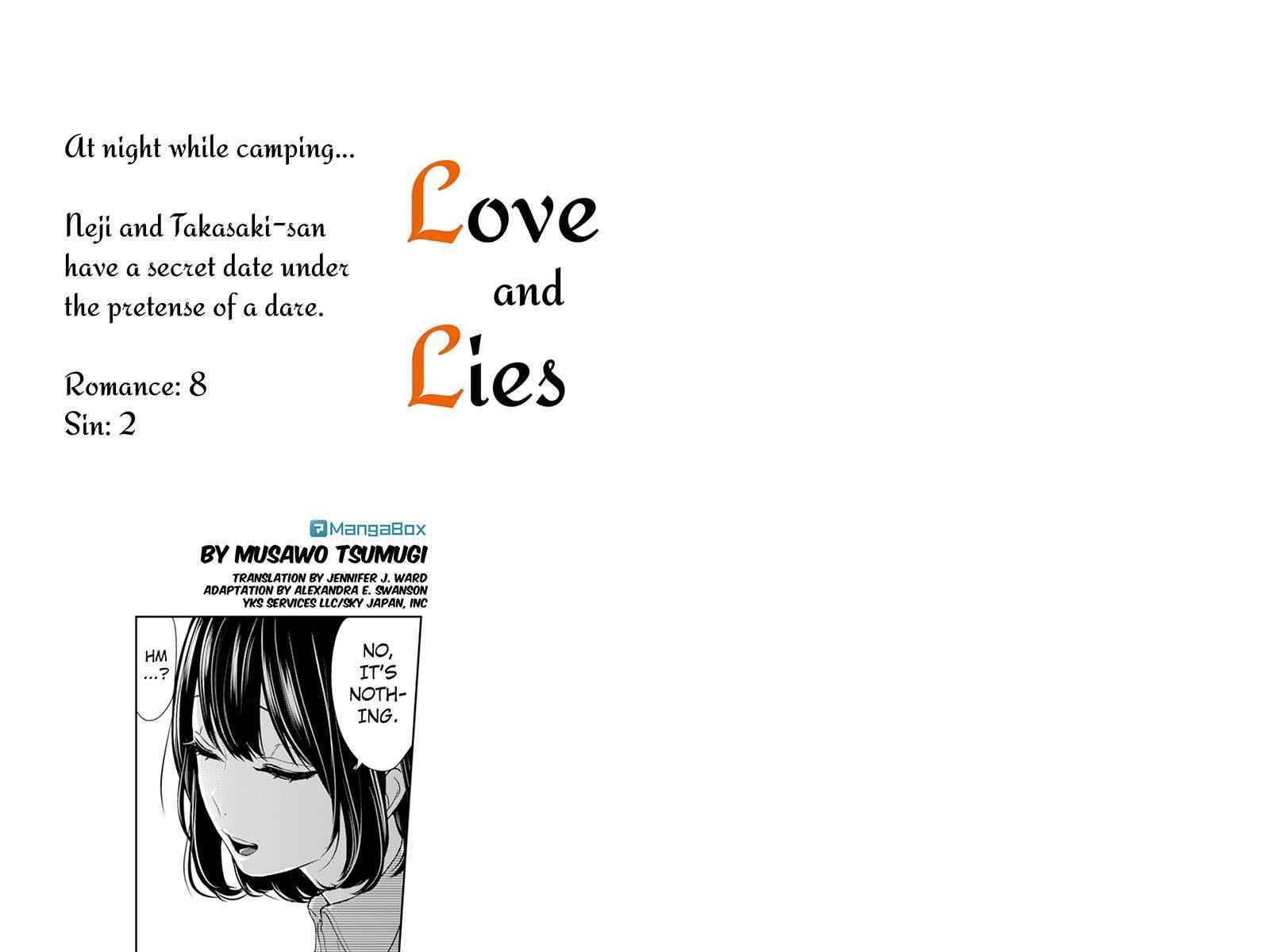 Koi to Uso 34 Page 1