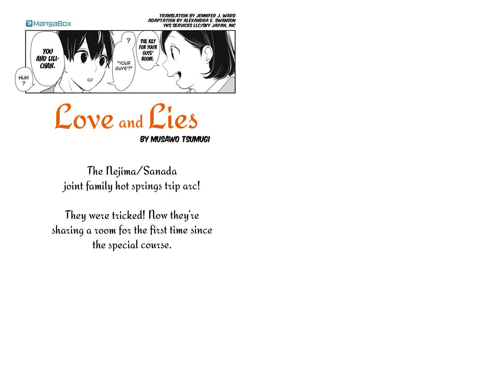 Koi to Uso 112 Page 1