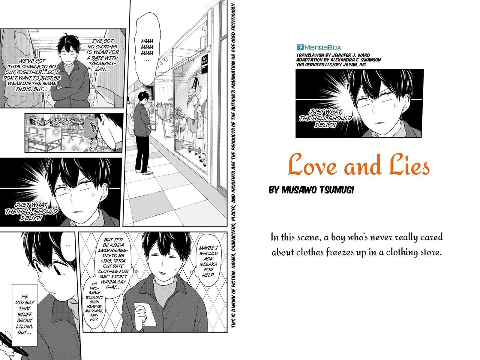 Koi to Uso 137 Page 1