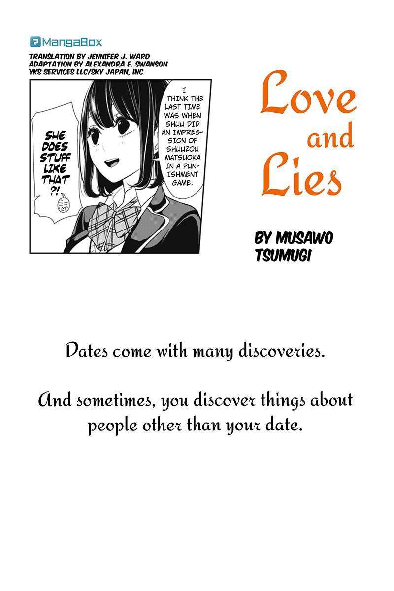Koi to Uso 141 Page 1