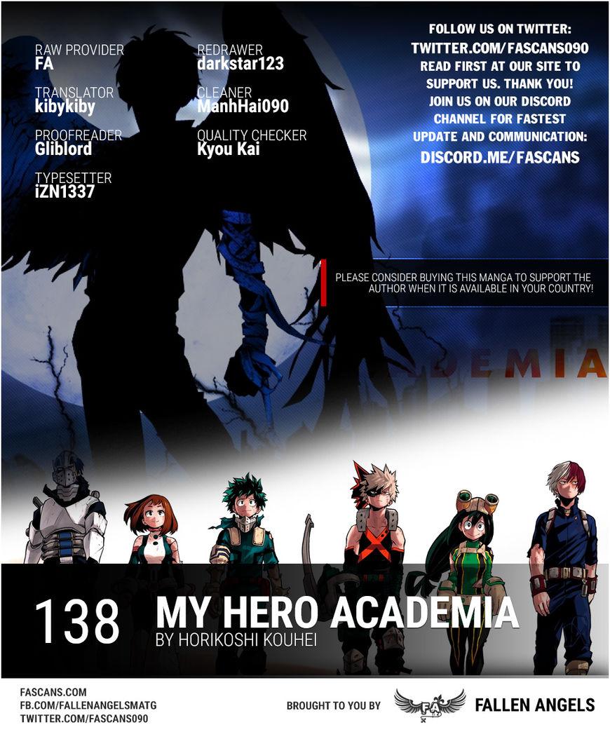 Boku no Hero Academia 138 Page 1