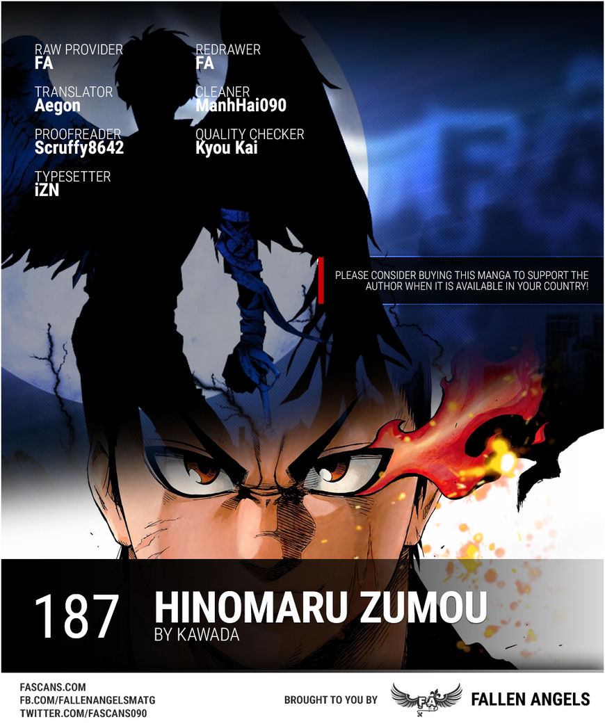 Hinomaru Zumou 187 Page 1