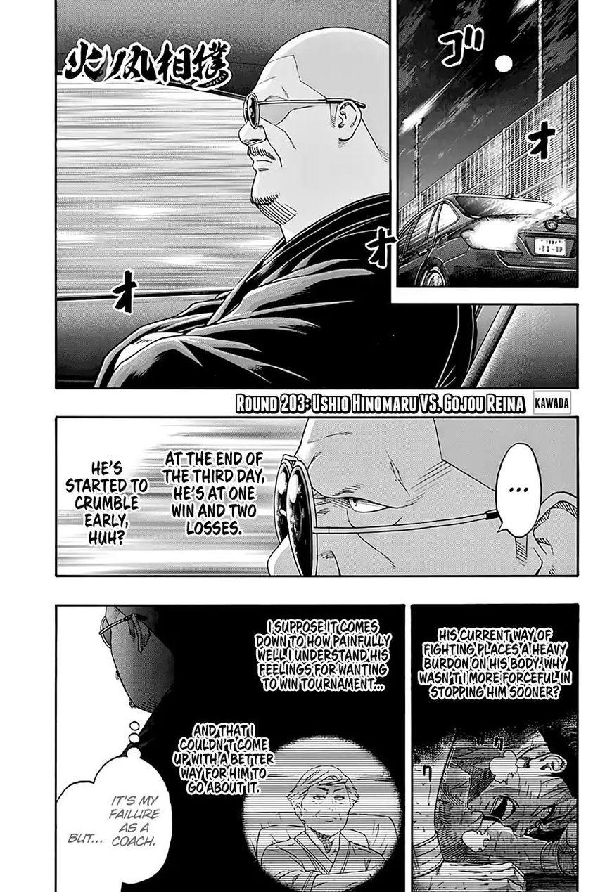 Hinomaru Zumou 203 Page 1