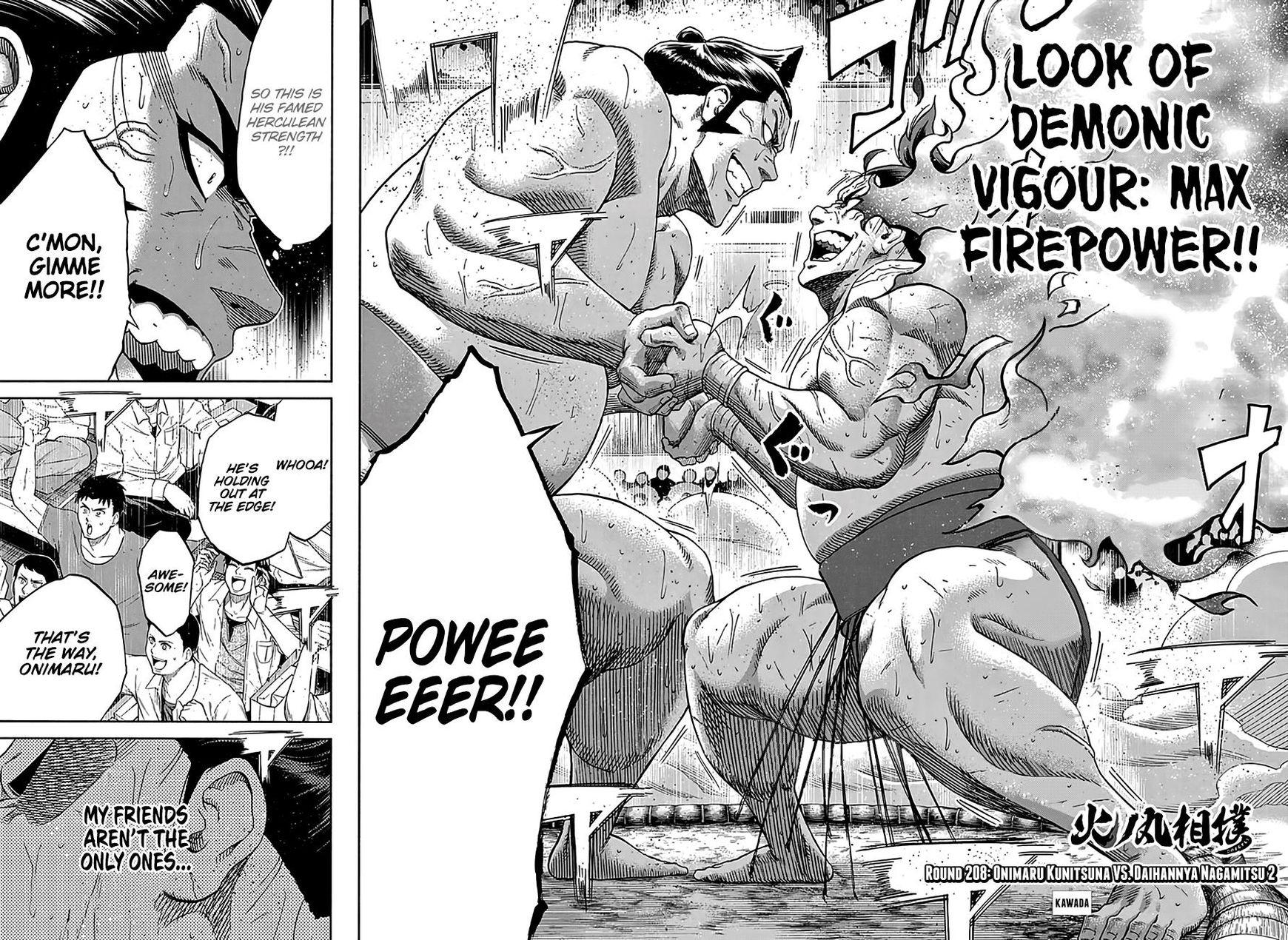 Hinomaru Zumou 208 Page 3