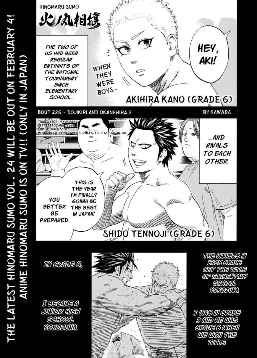 Hinomaru Zumou 226 Page 1