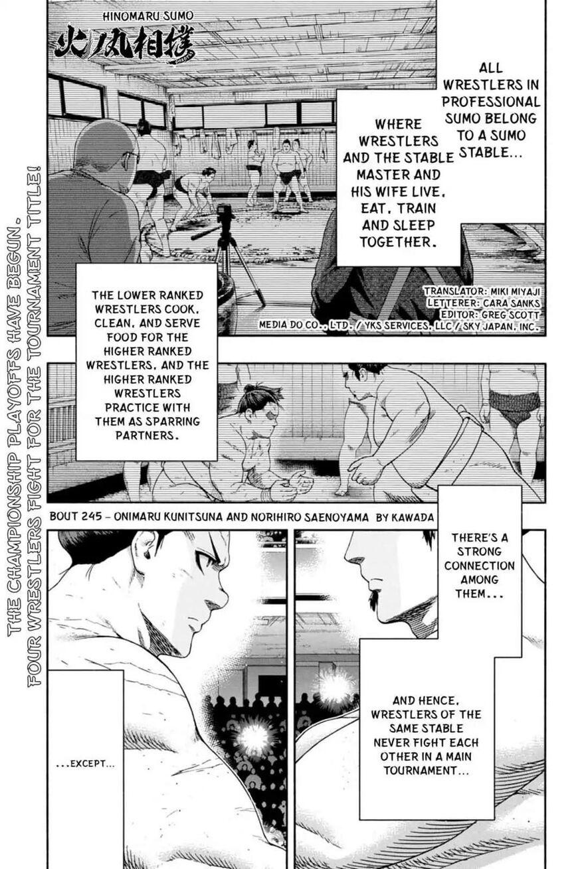 Hinomaru Zumou 245 Page 1