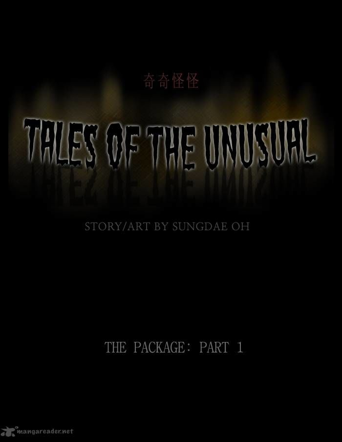 Tales of the unusual 159 Page 1