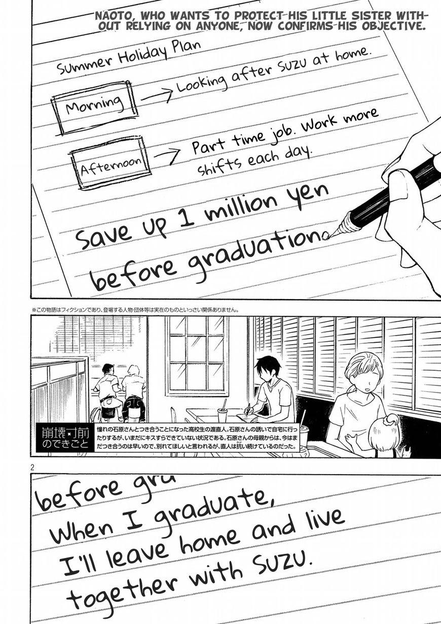 Watari-kun no xx ga Houkai Sunzen 37 Page 2