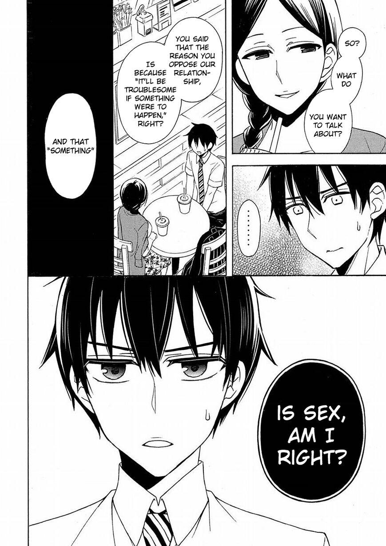 Watari-kun no xx ga Houkai Sunzen 41 Page 4