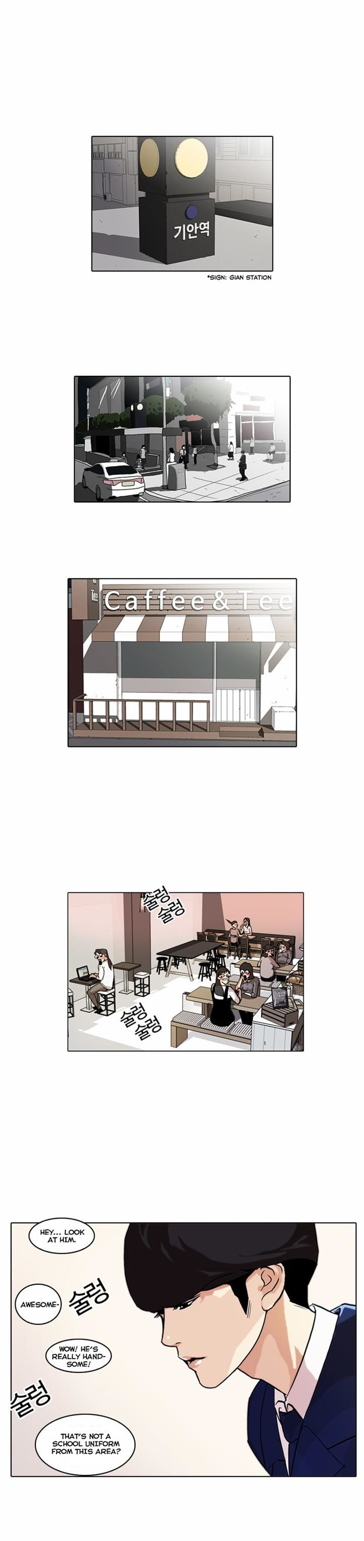 Lookism 36 Page 1