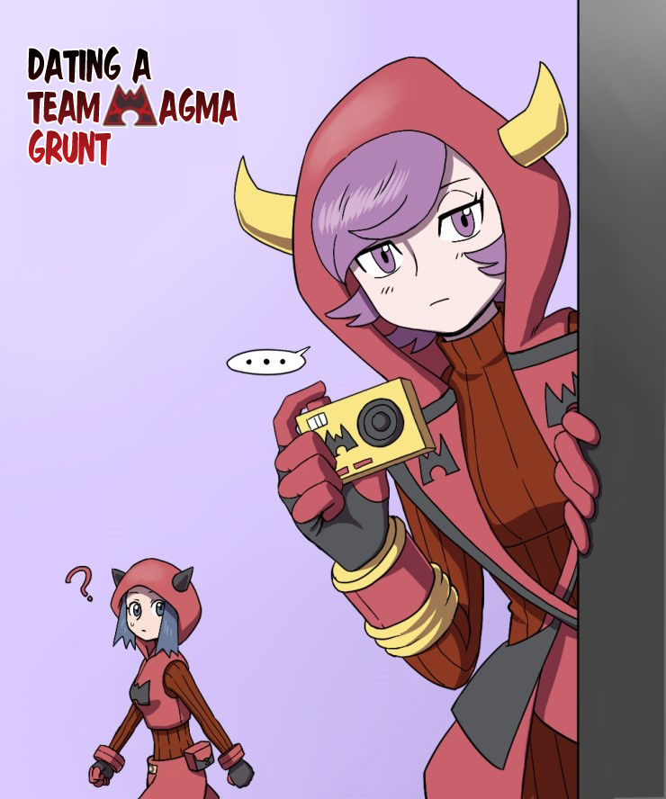 Pokemon - Dating a Team Magma Grunt (Doujinshi) 5 Page 1