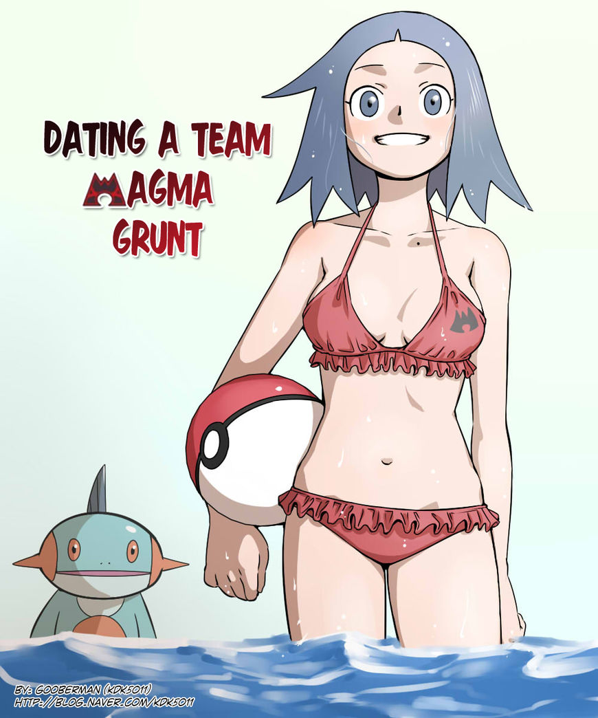 Pokemon - Dating a Team Magma Grunt (Doujinshi) 10 Page 1