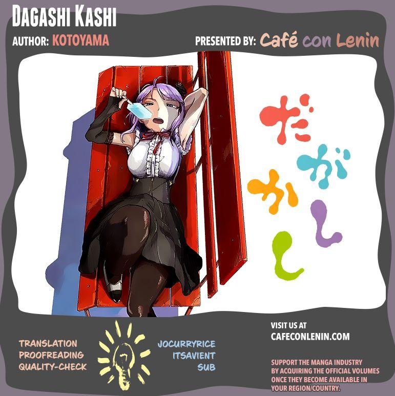 Dagashi Kashi 8 Page 1