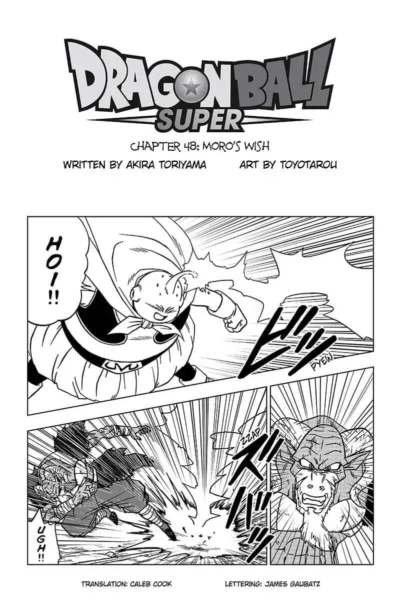Dragon Ball Super 48 Page 1