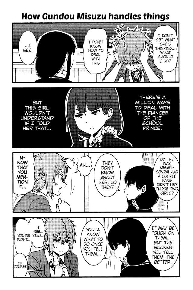 Tomo-chan wa Onnanoko! 92 Page 1