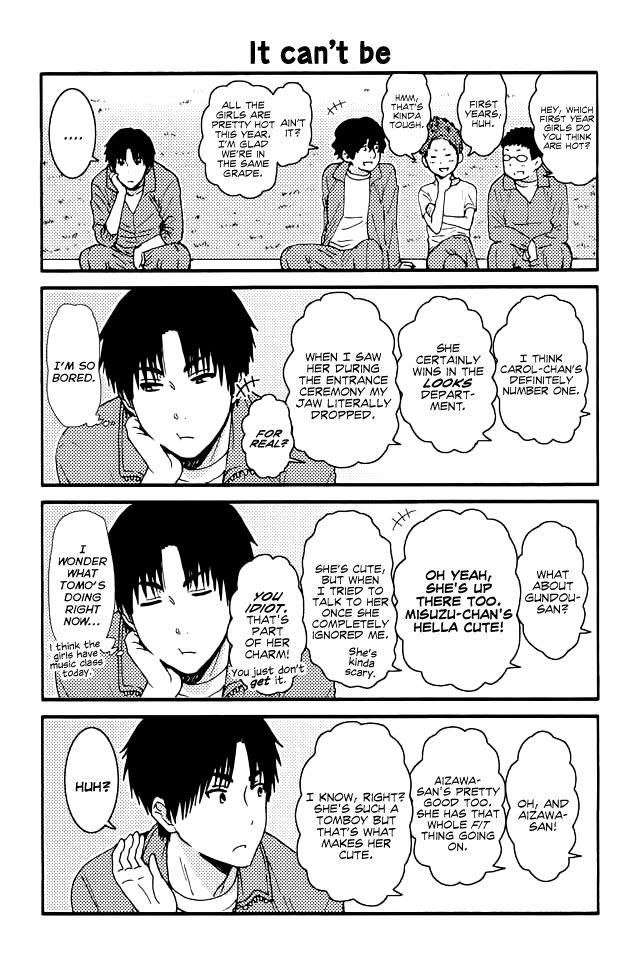 Tomo-chan wa Onnanoko! 118 Page 1