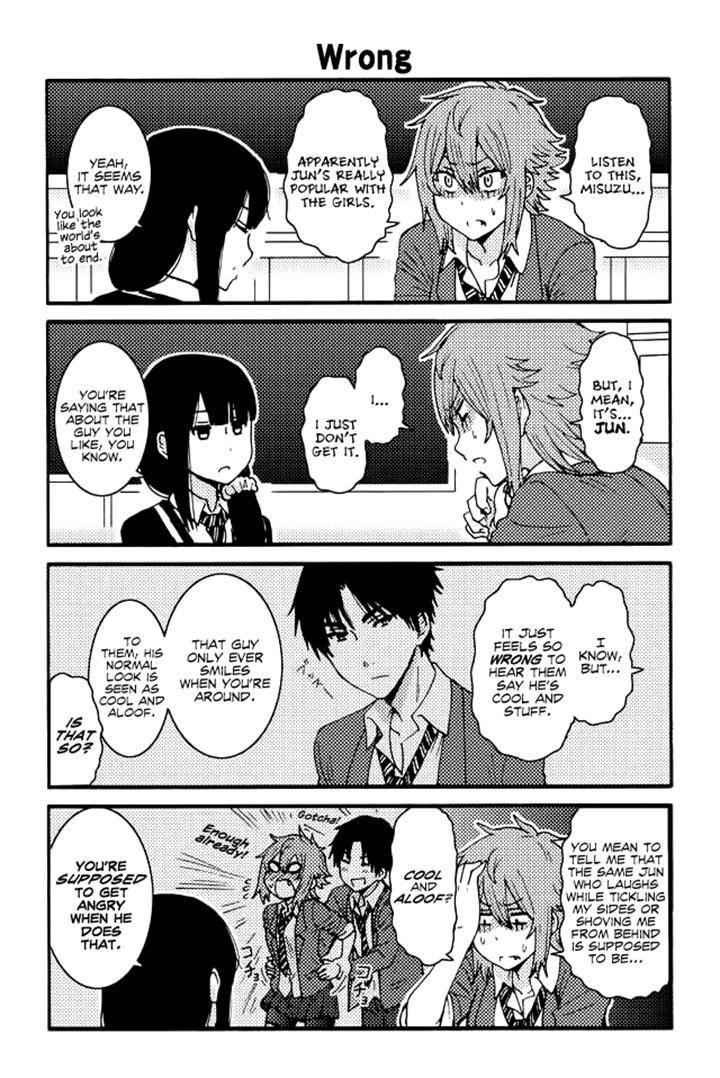 Tomo-chan wa Onnanoko! 121 Page 1