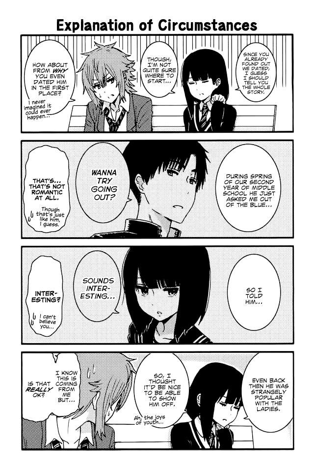 Tomo-chan wa Onnanoko! 126 Page 1