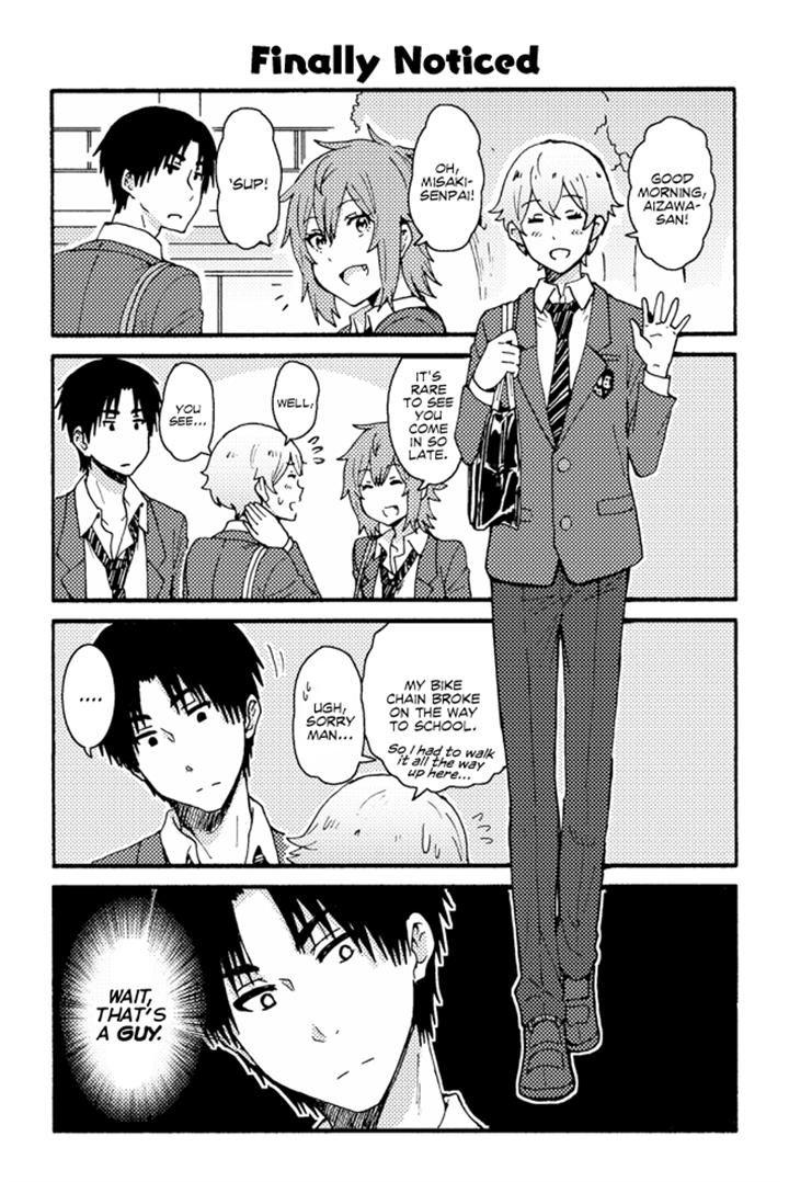 Tomo-chan wa Onnanoko! 157 Page 1