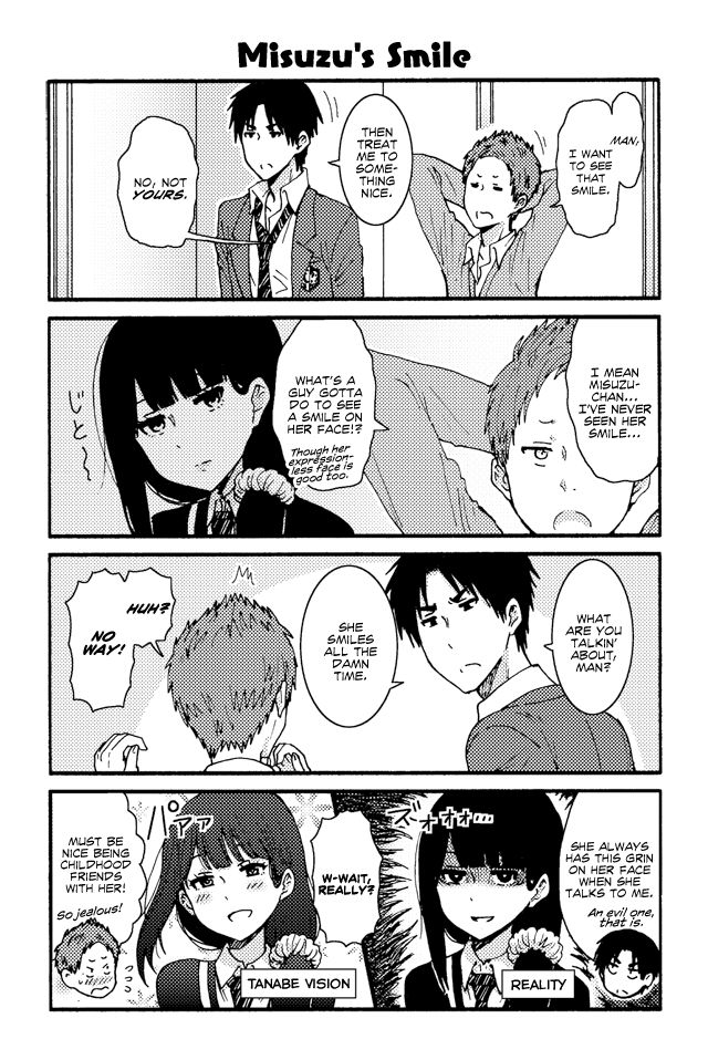 Tomo-chan wa Onnanoko! 173 Page 1