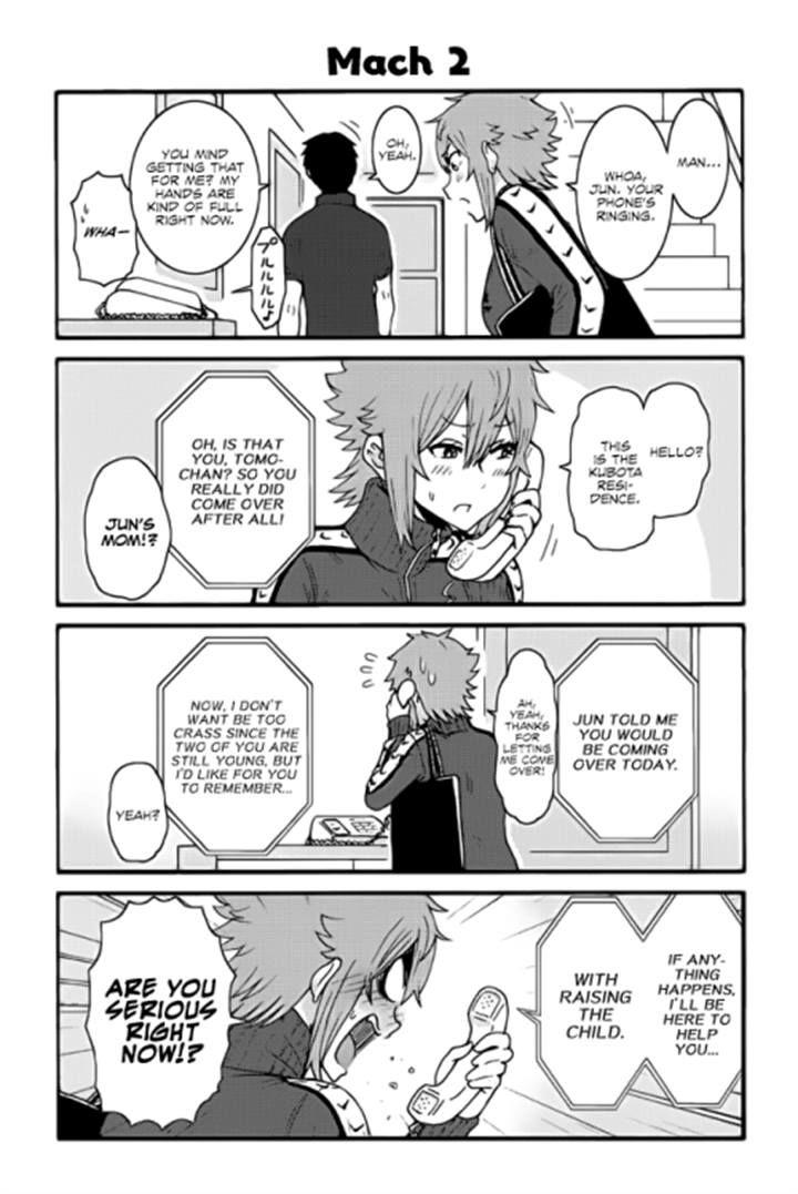 Tomo-chan wa Onnanoko! 271 Page 1