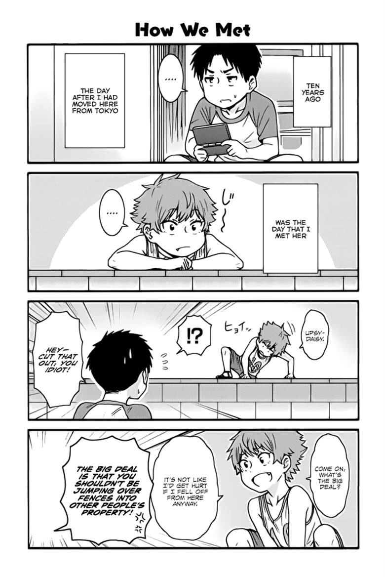 Tomo-chan wa Onnanoko! 397 Page 1