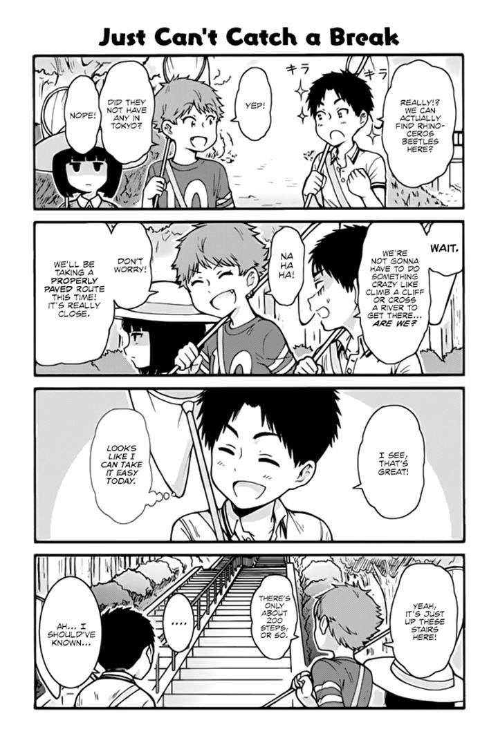 Tomo-chan wa Onnanoko! 410 Page 1
