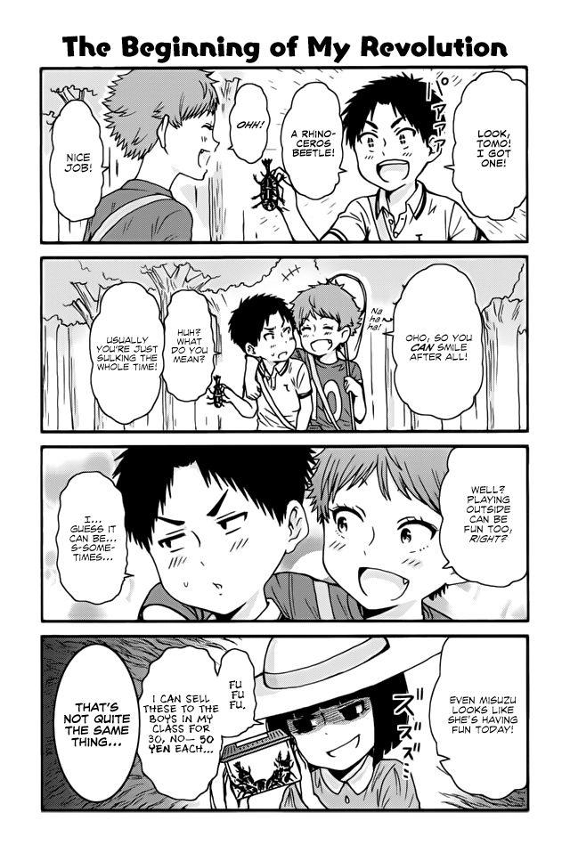 Tomo-chan wa Onnanoko! 414 Page 1
