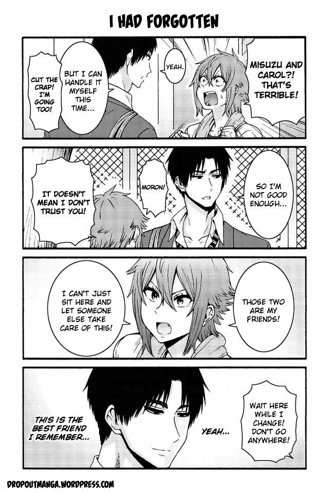 Tomo-chan wa Onnanoko! 532 Page 1