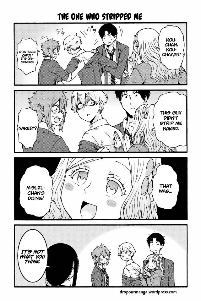 Tomo-chan wa Onnanoko! 540 Page 1