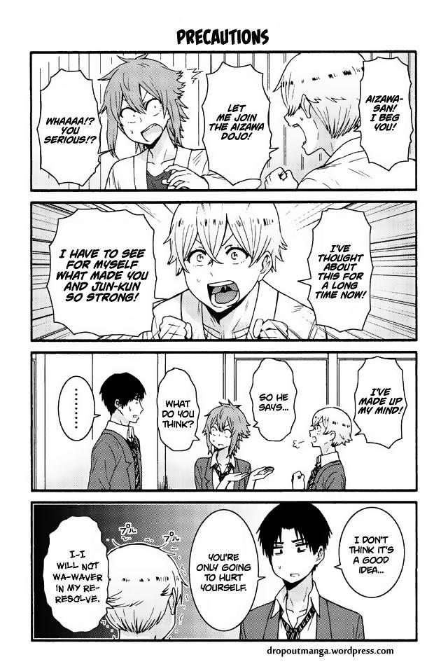 Tomo-chan wa Onnanoko! 550 Page 1