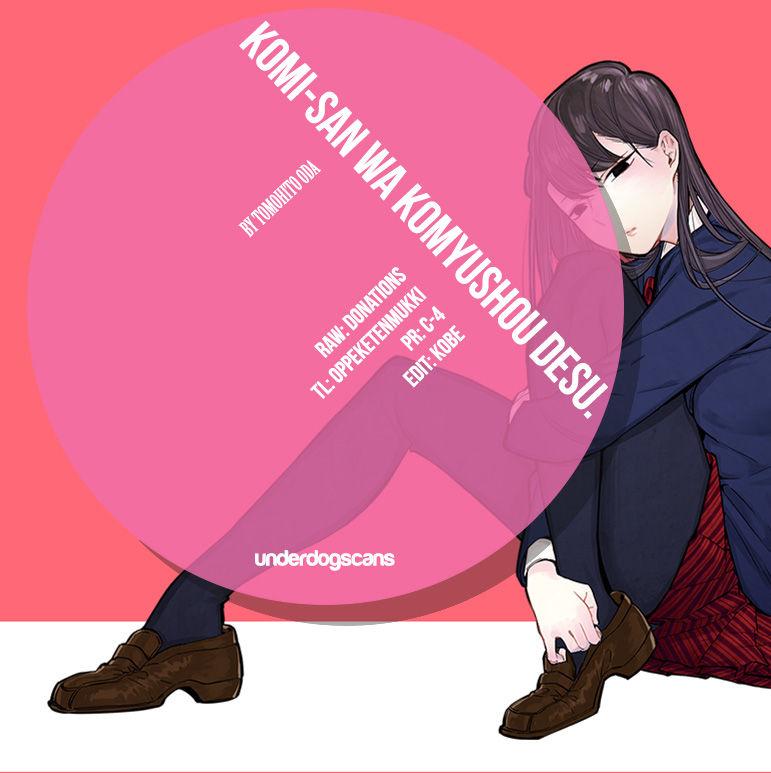 Komi-san wa Komyushou Desu 15 Page 1